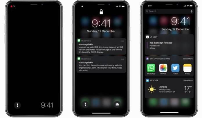 iPhone X dark mode, how to