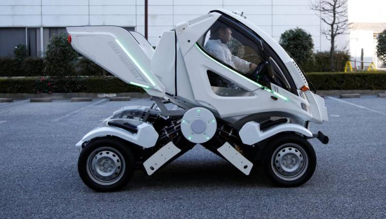 Foldable Car Video