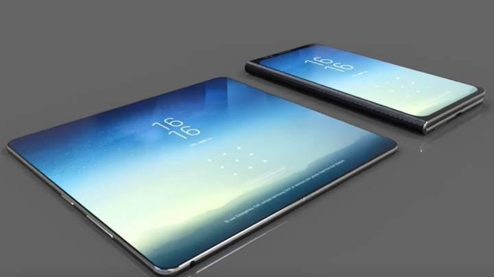 Galaxy X Foldable Phone