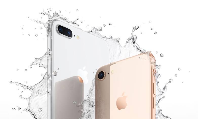 iPhone X vs. iPhone 8 sales