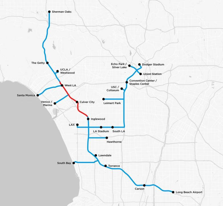 Elon Musk and the Boring Company: Tunnels, plans, and map