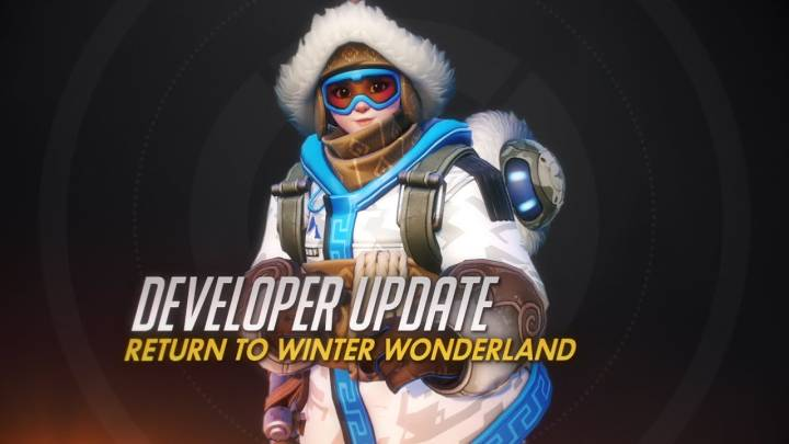 overwatch winter wonderland event video