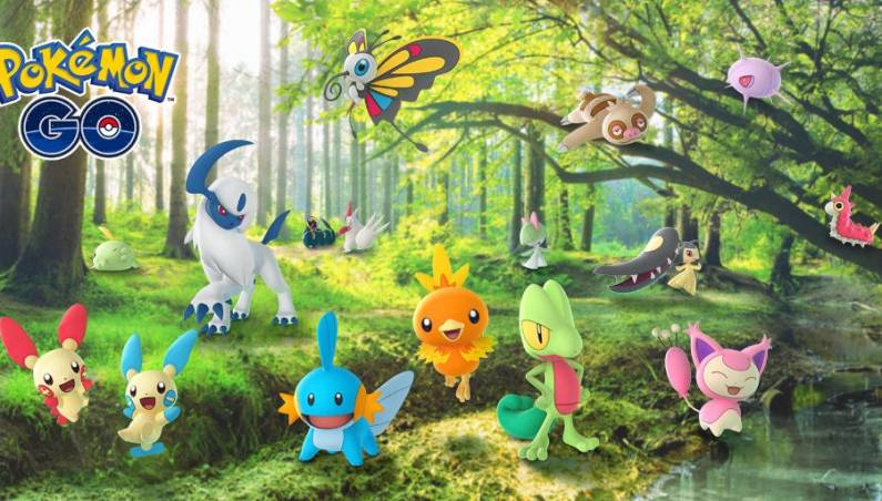 Pokemon Go Gen 3 update