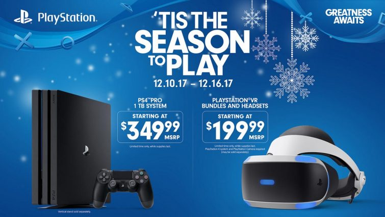 Ps4 Pro And Playstation Vr Black Friday Price Cuts Return Next Week Bgr