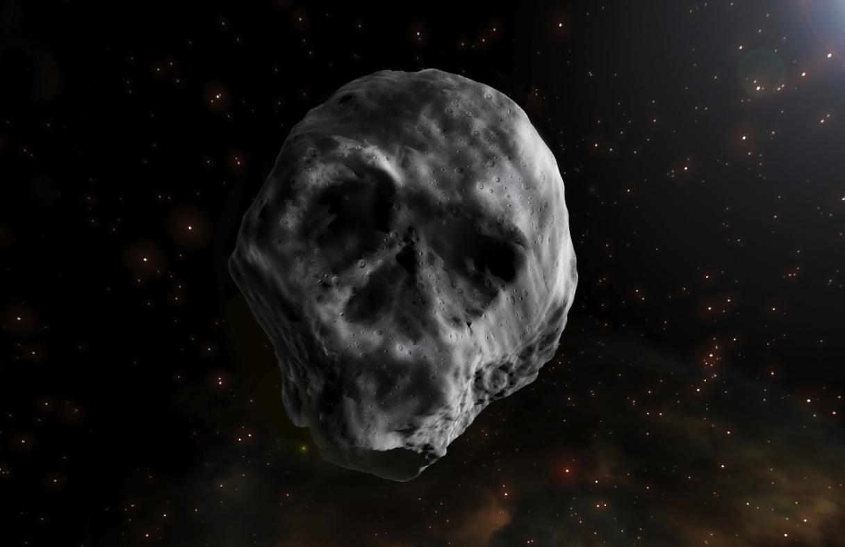 skull asteroid
