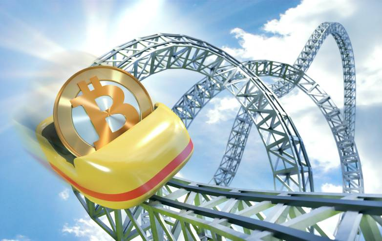Bitcoin price today free fallin'