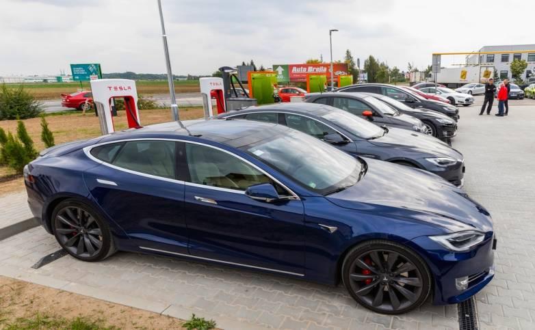 Tesla Workplace Charging