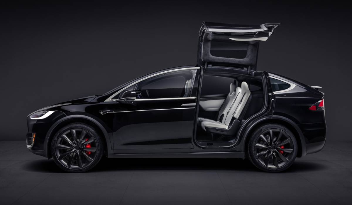 Tesla Model X Fatal Crash