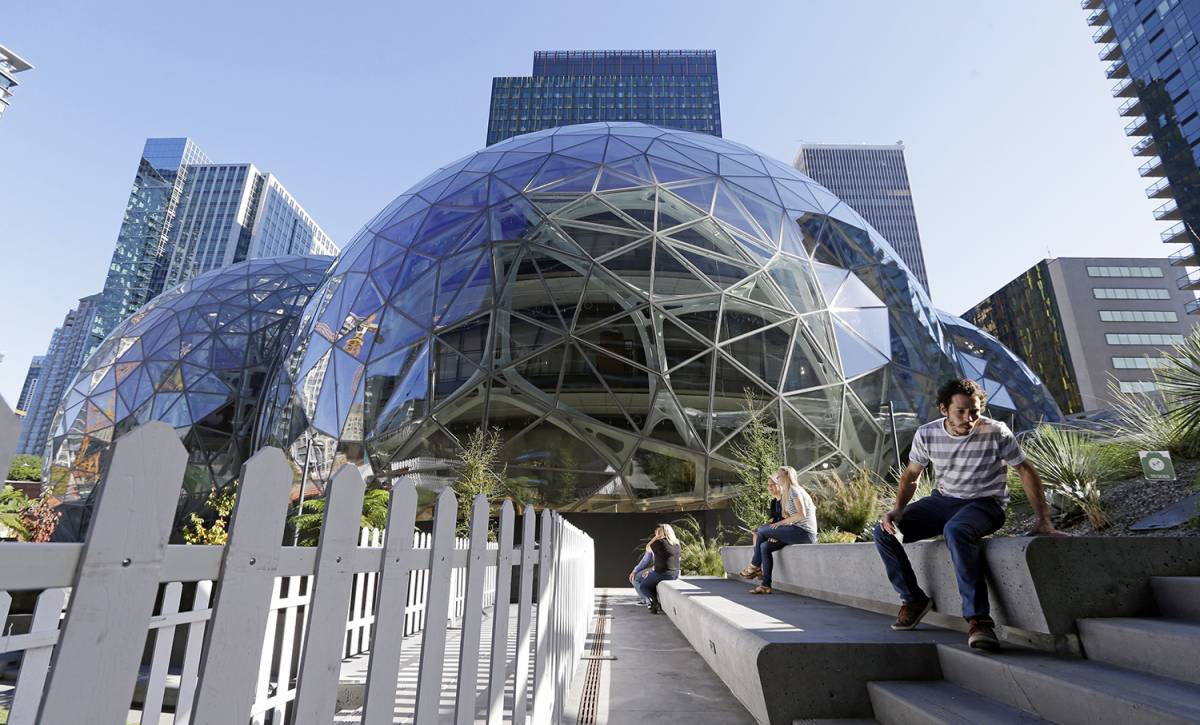 Amazon Spheres Tour 2018