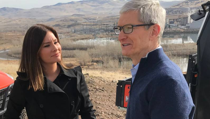 Tim Cook iPhone battery apology interview