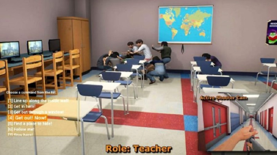 School Shooting Game