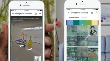Google Art Selfie App