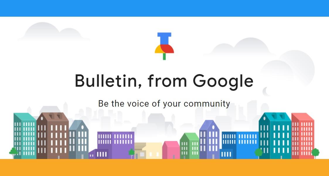 Google Bulletin app