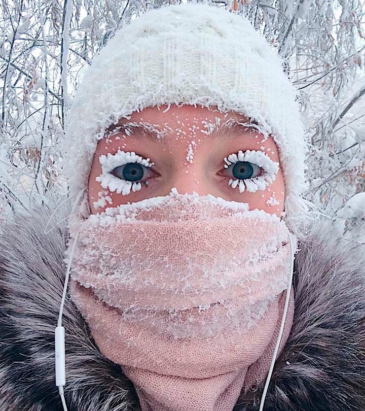 Russia Oymyakon temperature
