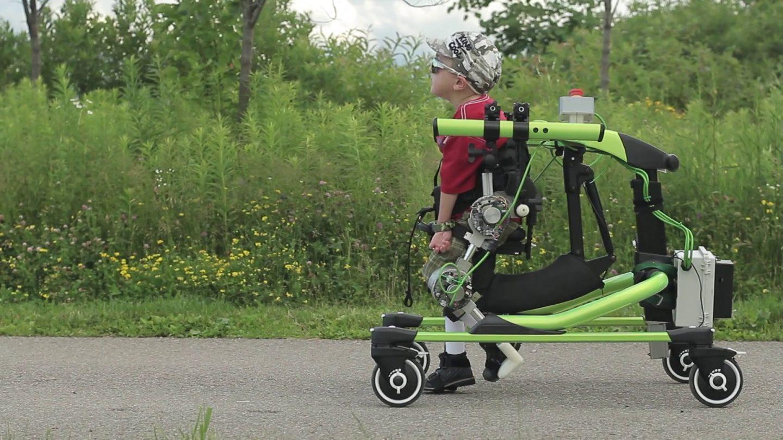 Robotic exoskeleton for kids