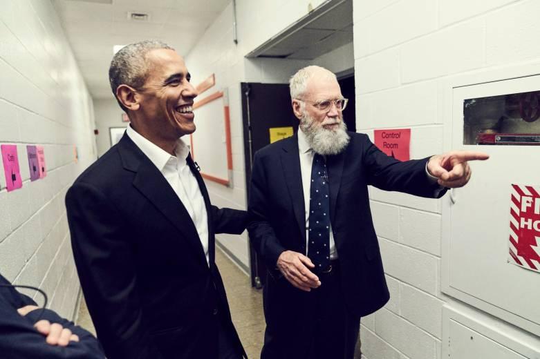 David Letterman's Netflix talk show