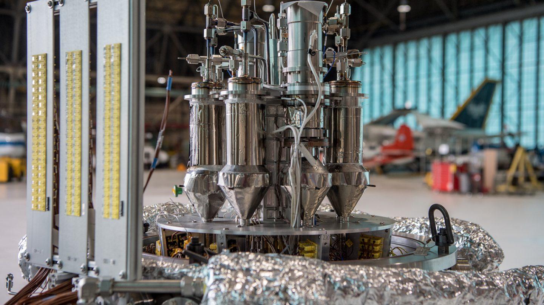 NASA Nuclear Reactor Test