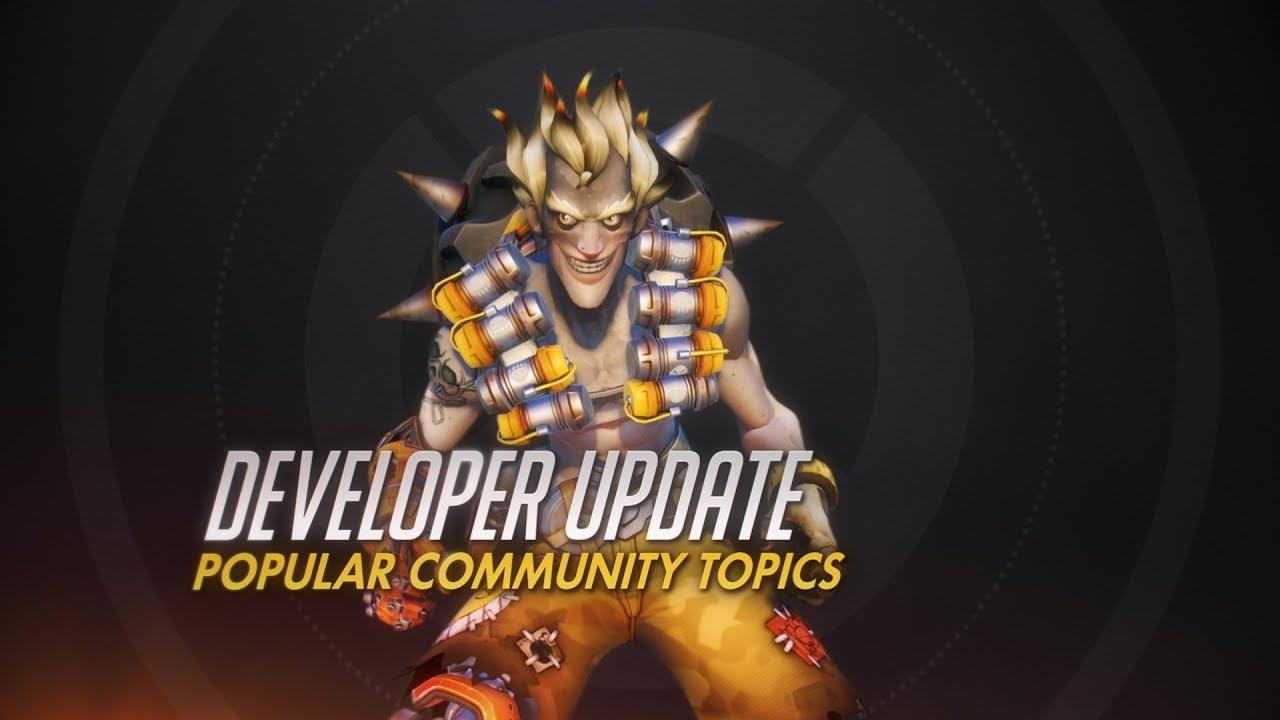 Overwatch developer update, Jeff Kaplan