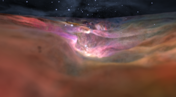 Orion nebula NASA video