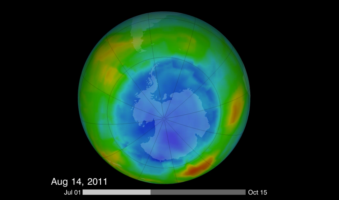 hole in ozone layer