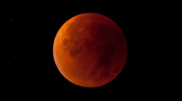 super blue blood moon photos