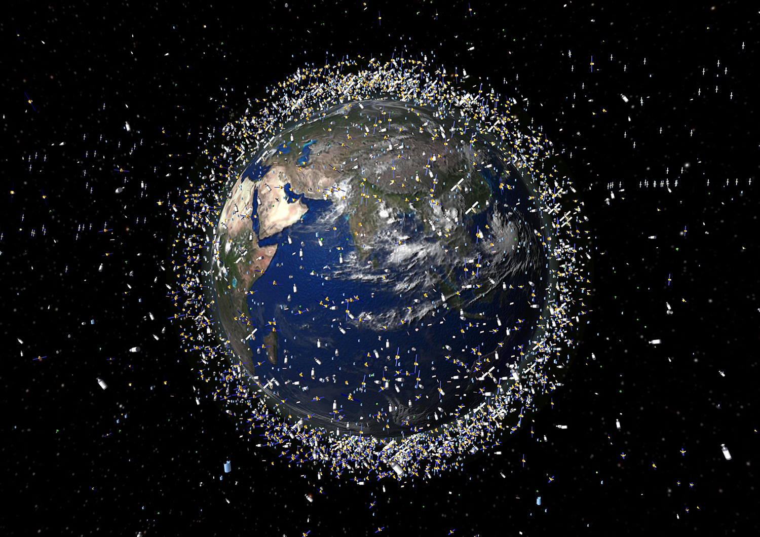 A discarded Chinese rocket stage and a Soviet-era satellite nearly collided over Earth overnight. The collision would have created a huge amount of new space debris and made our current space junk problem even worse. As we continue to launch more and more sat…