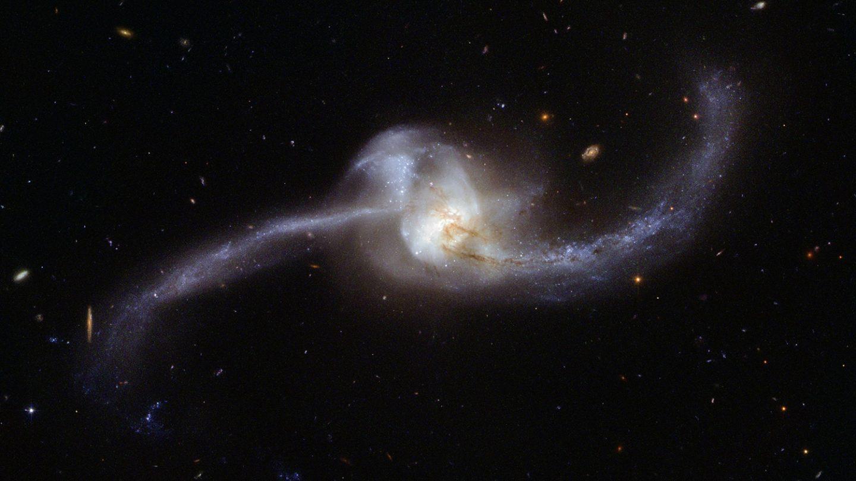 NASA JD Galaxy Hubble Photo