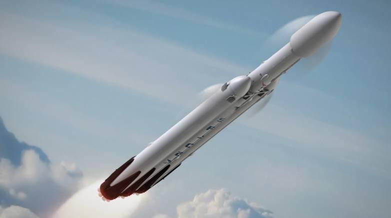 Falcon Heavy test fire