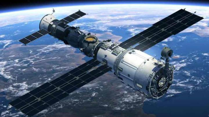 Tiangong-1 space station crash