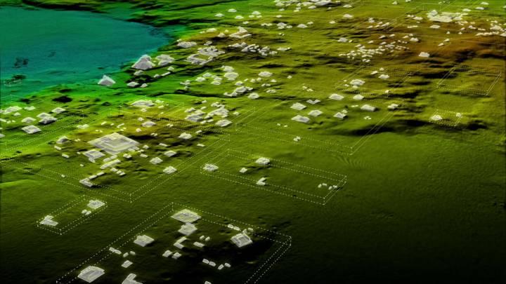 mayan megacity