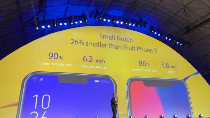 iPhone X vs. Asus Zenfone 5