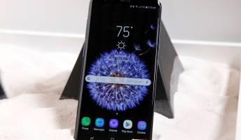 Galaxy S9 vs Galaxy S8 screen