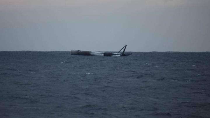 SpaceX rocket booster landing