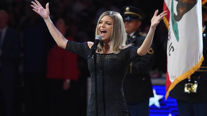 Fergie National Anthem Video