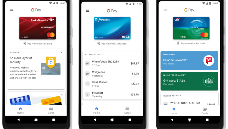 Google Pay replaces Android Pay
