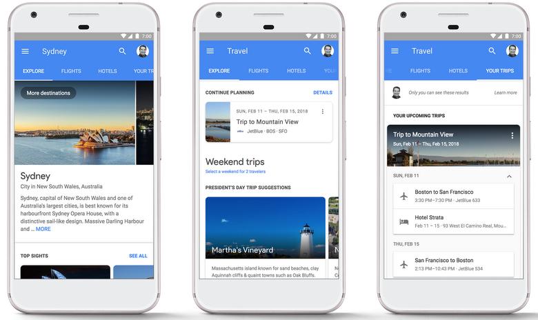 Google: Hotel booking