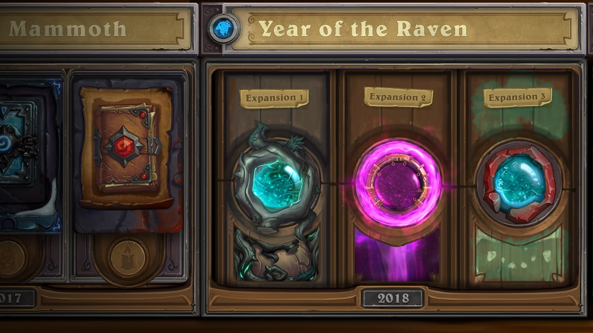 Hearthstone update: Year of the Raven