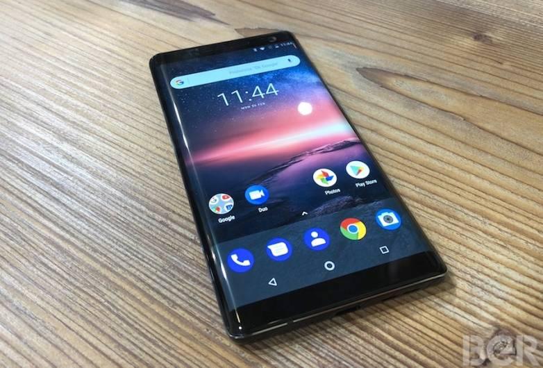 Nokia 8 Sirocco vs. Galaxy S9