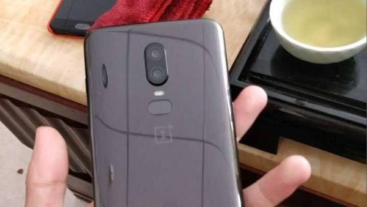 OnePlus 6 leaked photos