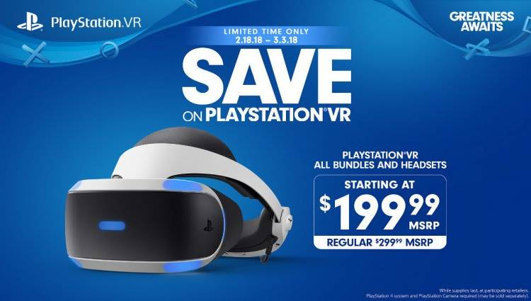 PlayStation VR discount