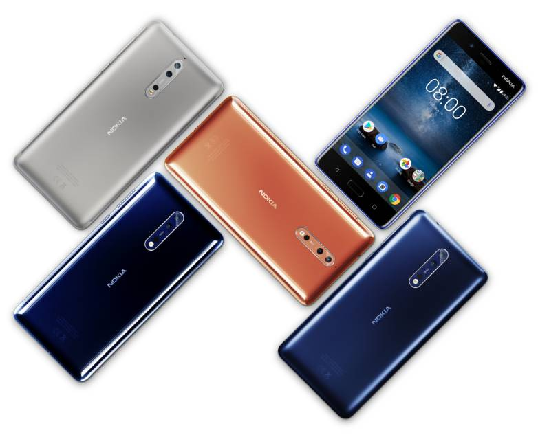 Nokia 9 Android phones MWC 2018
