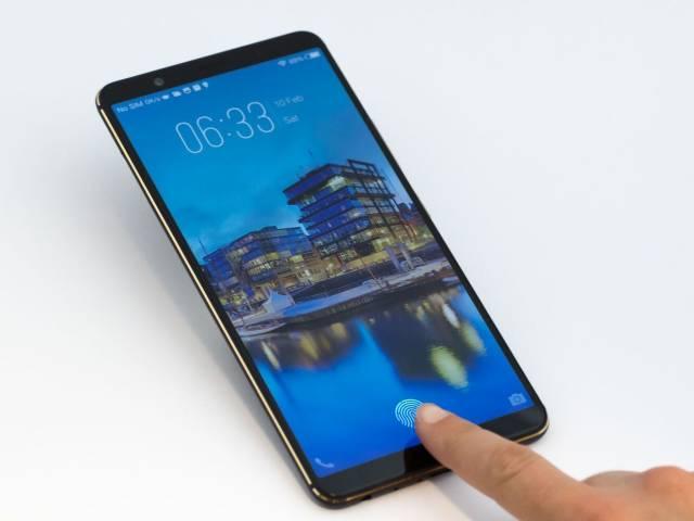 In-display fingerprint sensor video