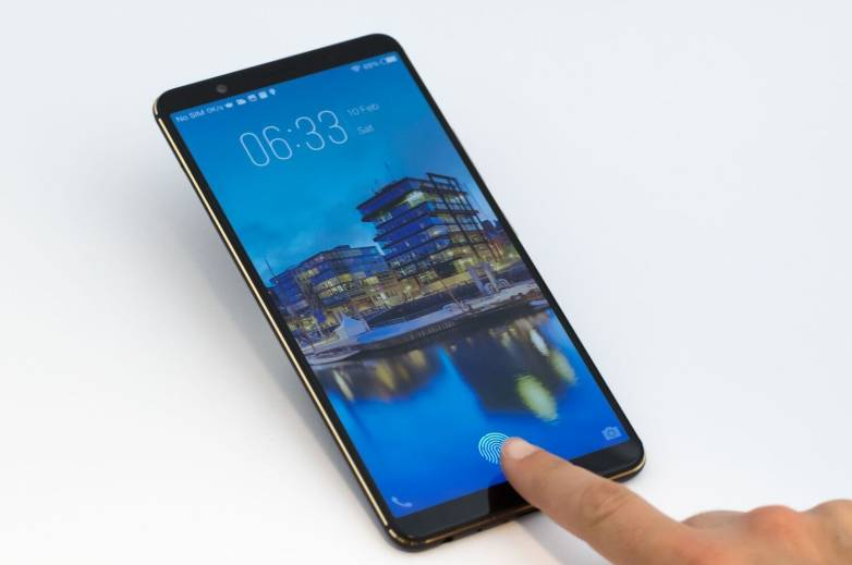 In-display fingerprint sensor video