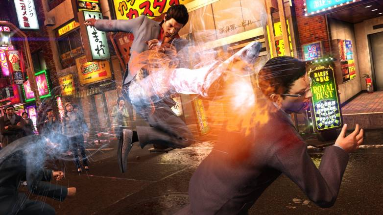Yakuza 6 demo