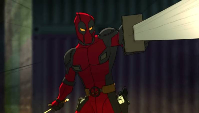 Deadpool animation test