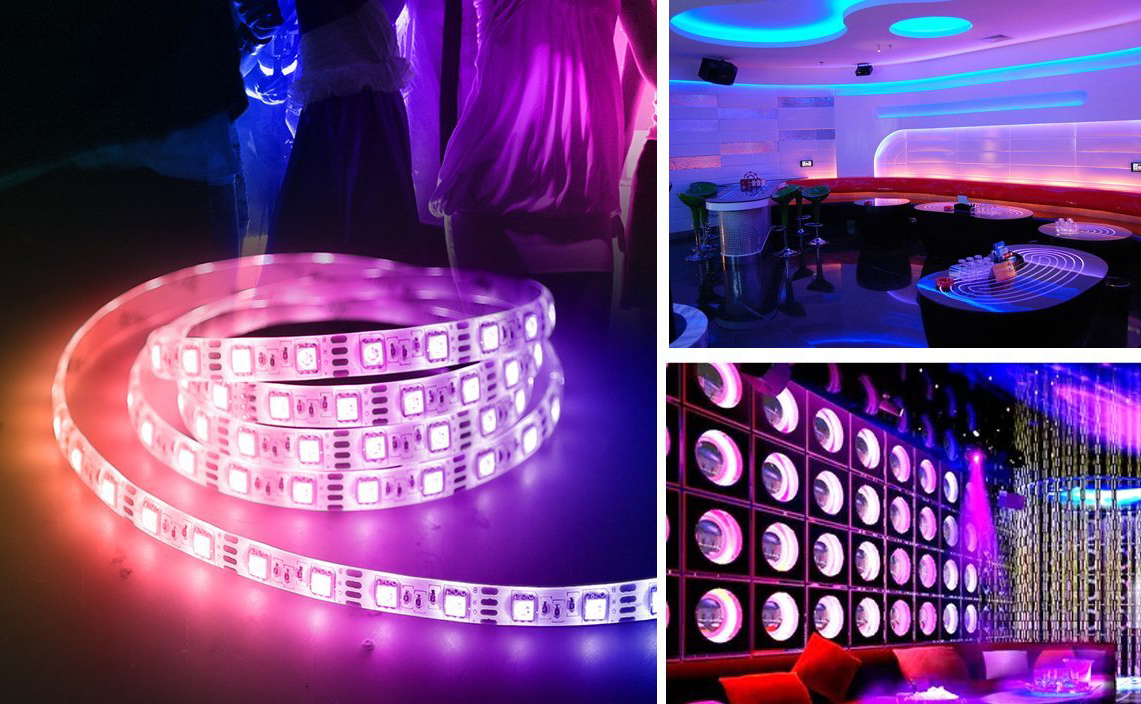 LED Light Strip Flashes With Music