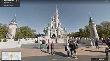 Google Maps: Disney Parks