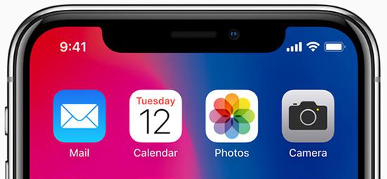 iPhone smaller notch