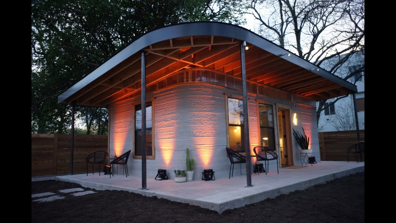 3-D printed house: ICON at SXSW