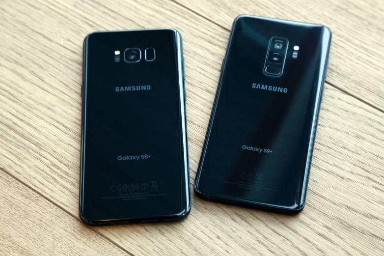 Galaxy S9 Plus vs. iPhone X Drop Test